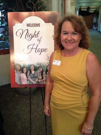 Soroptimist International of Stuart - Night of Hope - Liz Bonan to benefit Shared Hope.