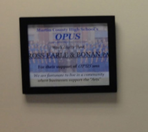 REB Law Proudly Sponsors Martin County High School Opus